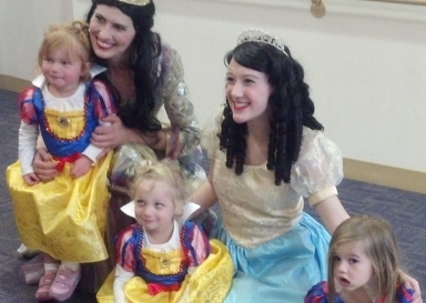 Our breakfast was full of Snow Whites! Dressing up is half the fun!