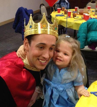 This princess claimed the prince for her very own!